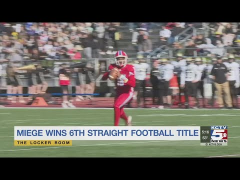 Bishop Miege High School coitized for winning too much