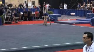David Frankl on Floor at the 2010 Mens JO Gymnastics