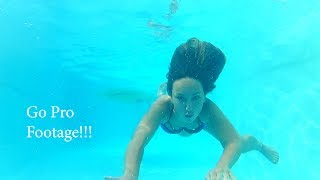 Go Pro Footage Swimming and puppies! 2018