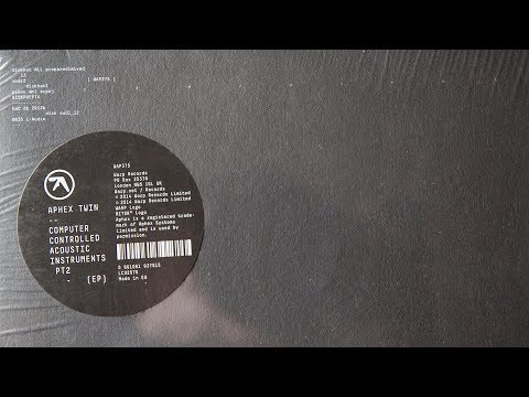 Aphex Twin - diskhat ALL prepared1mixed 13 (33 ⅓ vinyl)