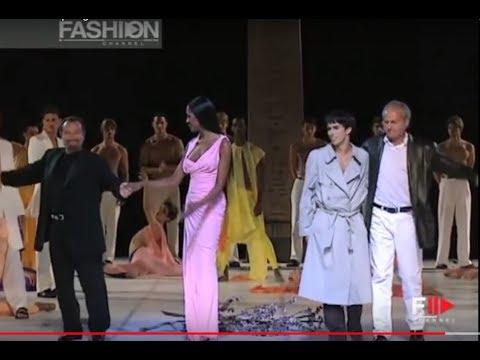 GIANNI VERSACE Spring Summer 1998 Menswear Milan – Fashion Channel