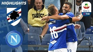 Sampdoria 3-0 Napoli | Sampdoria Gain First Win in Huge Upset! | Serie A