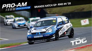 TDC Rnd 4 - Brands Hatch GP | Race | Renault Clio 182 | 11.10.20 (Onboard)