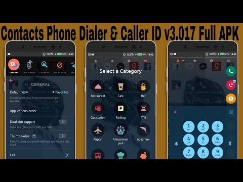 Contacts Phone Dialer & Caller ID v3 017 Full APK - YouTube