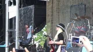 Alice Cooper--Wicked Young Man / I Love the Dead--Live @ Ottawa Bluesfest 2012-07-07