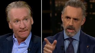 The moment Jordan Peterson asked a hard question about Trump to Bill Maher
