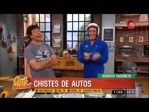 El humor de Rodrigo Vagoneta: chistes de autos