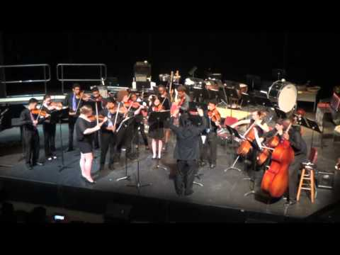 Upper School String Ensemble - Spring Concert 2016 - Abington Friends School