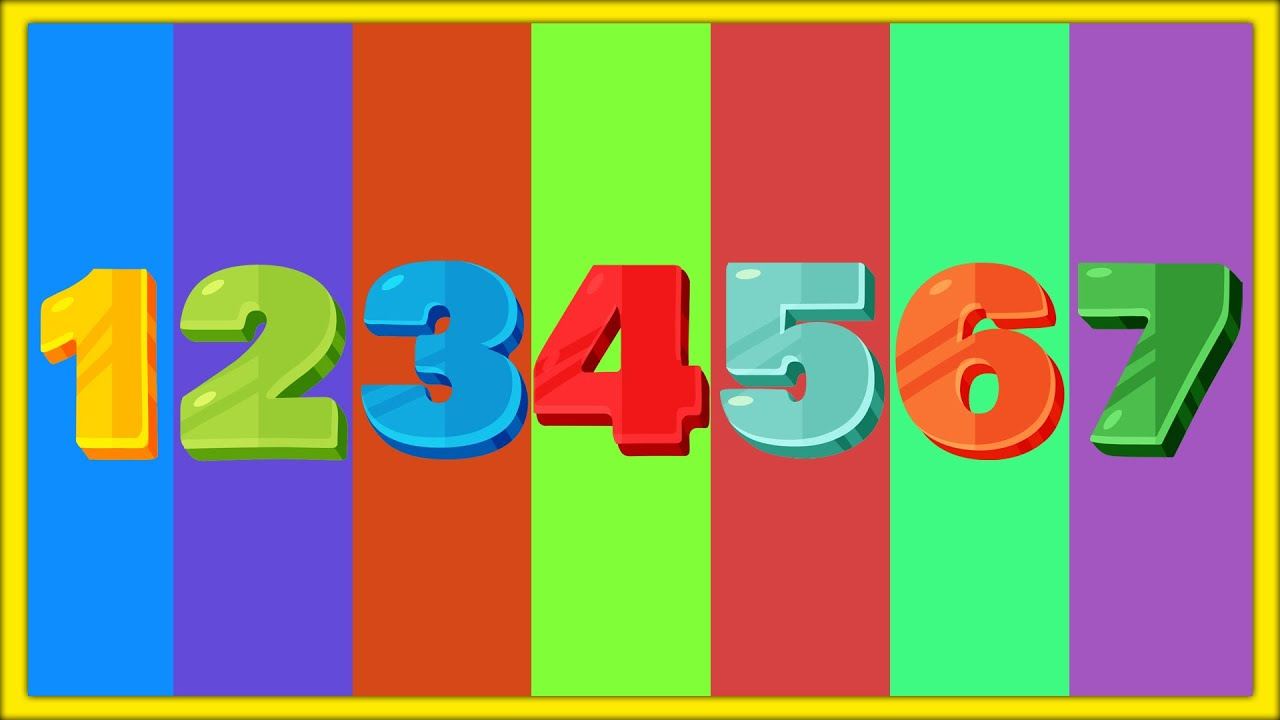Count to 7   Learn Numbers & Counting from 1 to 7