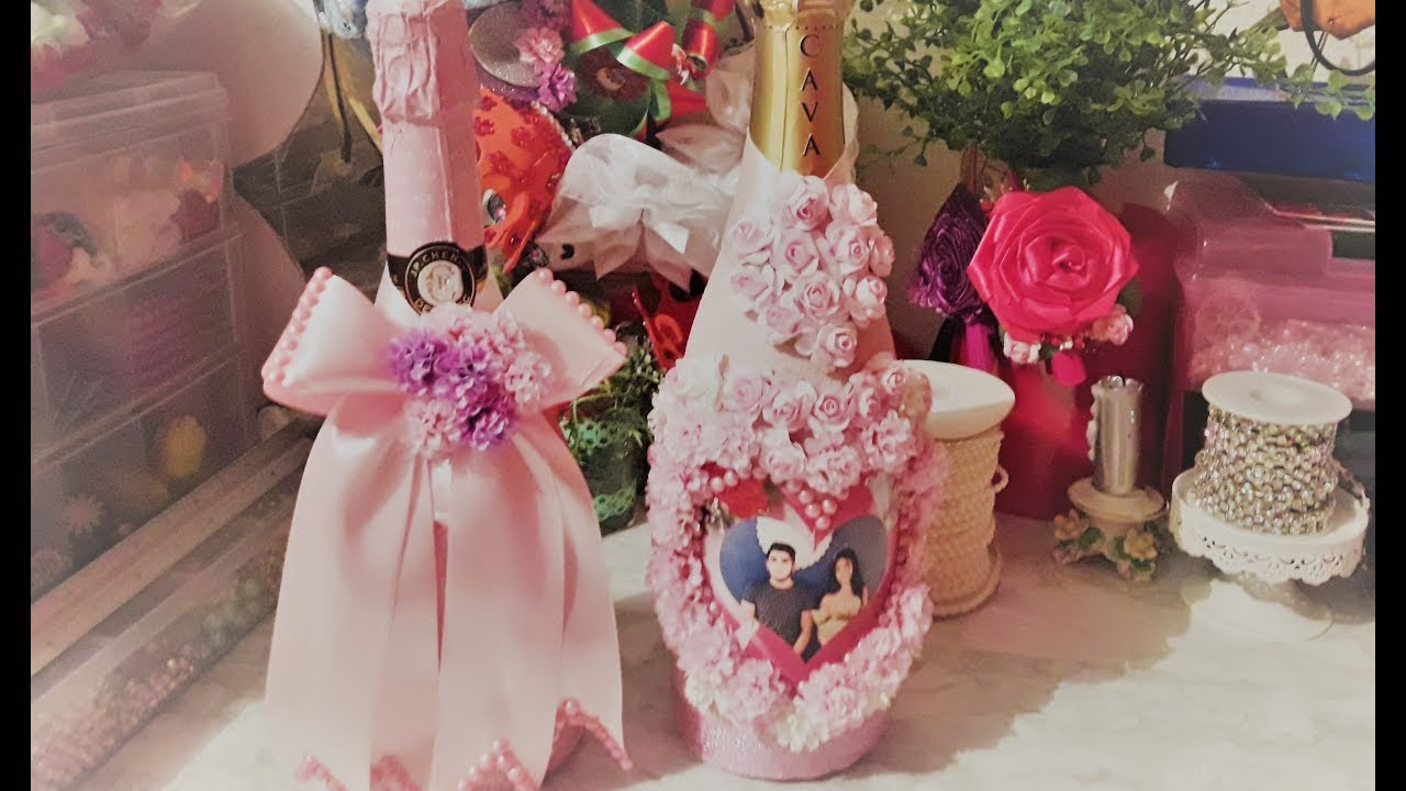 фото цветы и шампанское