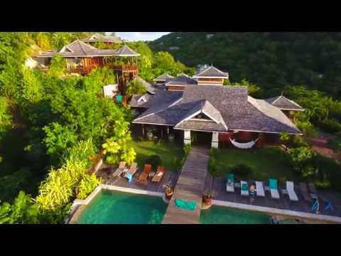 St. Lucia Coastline 4K Drone Footage