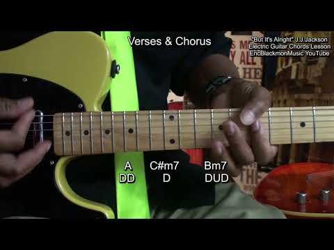 BUT IT'S ALRIGHT JJ Jackson 1966 Guitar Lesson (Huey Lewis 2005)