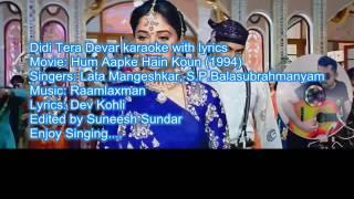 Didi tera dewar deewana (Karaoke 4 Duet)