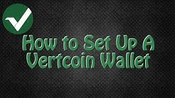 How to Set Up a Vertcoin Wallet on a Mac, VTC Electrum wallet download and install