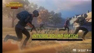 PUBG Intense Squad Vs Squad Match