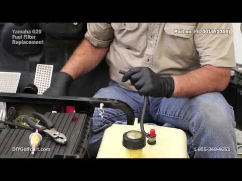 yamaha golf cart oil change 4 12