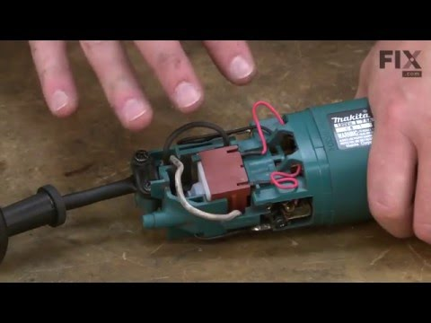 Makita Electric Drill Repair – How to replace the Cord Guard 8 - on
