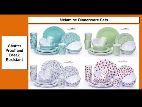 sc 1 st  YouTube & Melamine Dinnerware Sets - YouTube