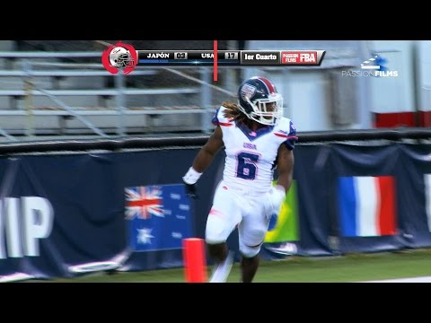 Highlights USA vs Japan IFAF World Championship Canton 2015