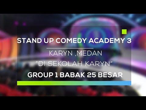 Stand Up Comedy Academy 3 : Karyn, Medan - Di Sekolah Karyn