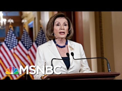 Day 1,050: Okaying Impeachment Articles, Pelosi Says Democracy Is At Stake | The 11th Hour | MSNBC