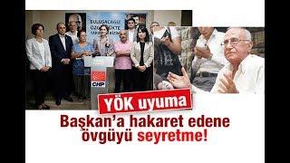 Ali Karahasanoğlu : YÖK uyuma, Başkan'a hakaret edene övgüyü seyretme!