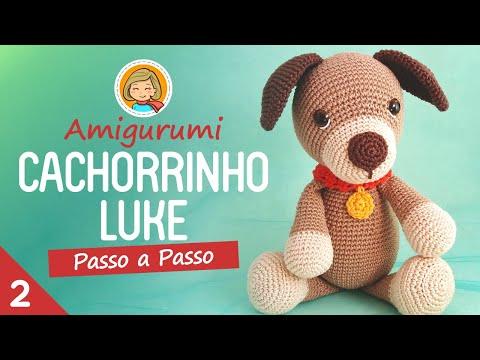 Cachorrinho Luke - Parte2 - Amigurumi Passo a Passo