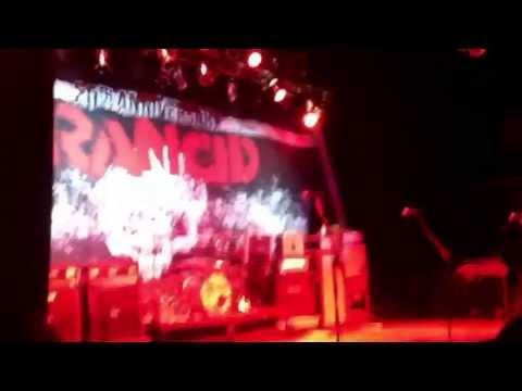 "Crowd sings ""BELIEVE"" as Branden Steineckert & Rancid take stage in SLC (7/19/13)"