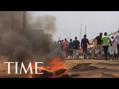 Protests In The Congo Continue As Leaders Claim Vote Would Be A 'Disaster' Due To Ebola | TIME