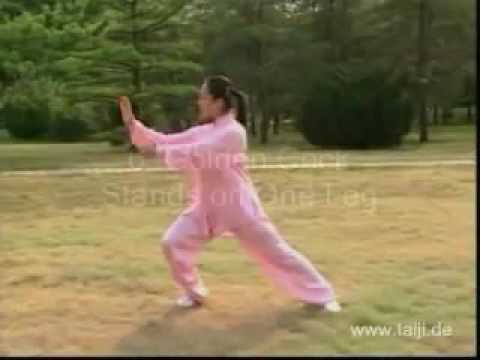 Tai Chi 10 Form, with English Titles - YouTube