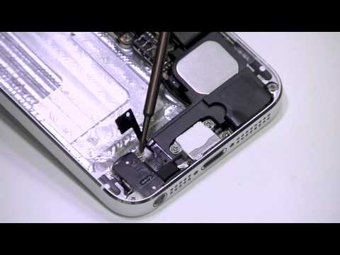 iPhone 5 Charging Port and Headphone Jack Replacement | Teardown