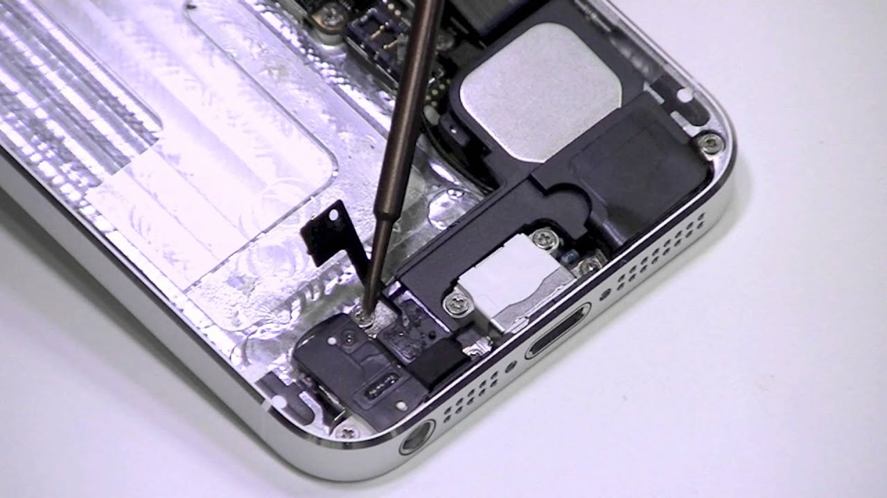 Iphone 5 Charging Port And Headphone Jack Replacement Teardown