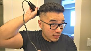 How To CUT HAIR/FADE AT HOME (Step by Step, Steps)