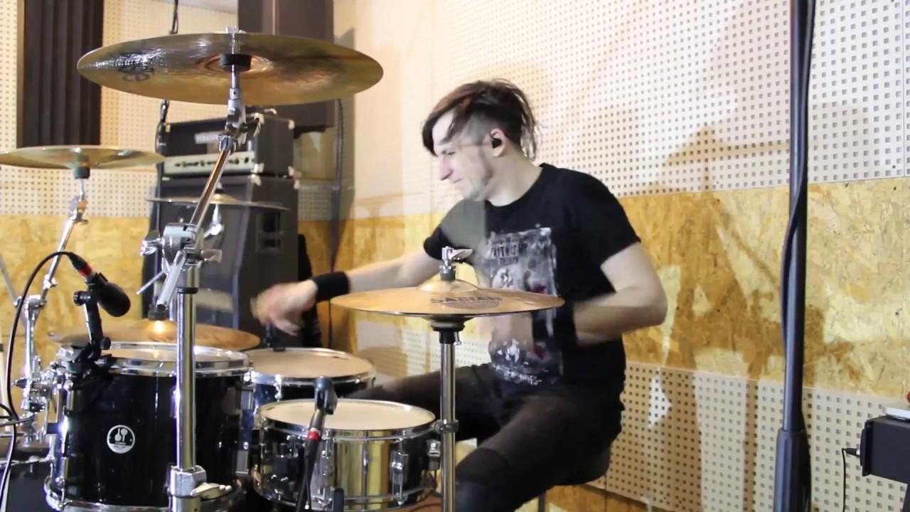 В лесу родилась елочка (drum cover) - YouTube