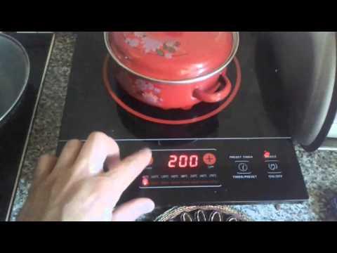 Индукционная плита Turbo TV-2350W, обзор