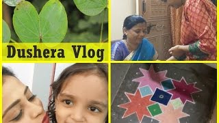 Dushera Vlog   Indian Festival   Tutak Tutak Tutiya   Indian Mom on Duty