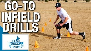 Top 4 Go To Infield Drills: Baseball Fielding