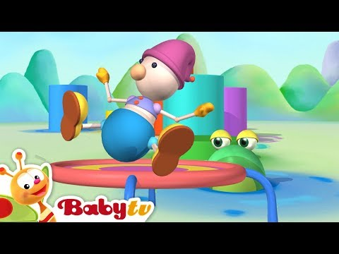 Playground of Toys | Trampoline and More Kids Toys | BabyTV