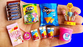 20 DIY MINIATURE FOOD AND SWEETS HACKS AND CRAFTS COLLECTION !!!!