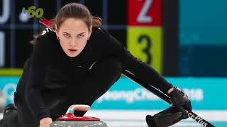 Social Media Get Excited About a Hot Curling Player