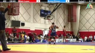 120 кг. Mijain Lopez vs Sunny Dhinsa