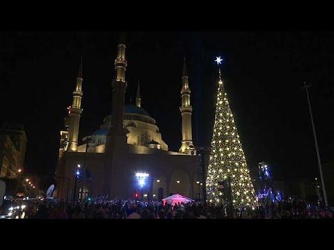 شاهد: بيروت تضيء شجرة الميلاد تحية إلى القدس  - نشر قبل 2 ساعة