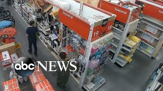 Video shows teen suspects in Canada walking around store