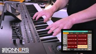 Korg PA4x Demo By Bonners Music Part 3 - Guitar Sounds