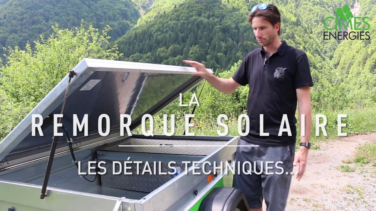 Générateur solaire mobile - YouTube