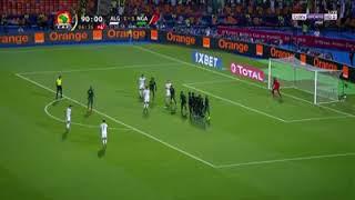 هدف رياض محرز ضد نيجيريا