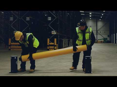 A-SAFE | Installation Of IFlex Single Traffic+ Safety Barrier