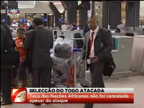 Angola - Dois mortos ataque terrorista  à selecção do Togo