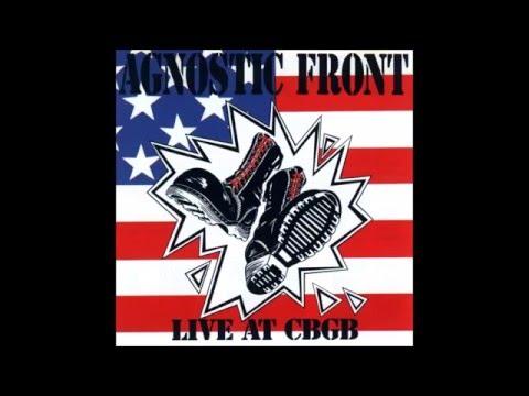 agnostic front - live at CBGB (1989) FULL ALBUM
