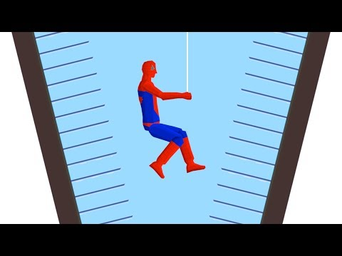 THE SPIDERMAN CHALLENGE! (Happy Wheels)